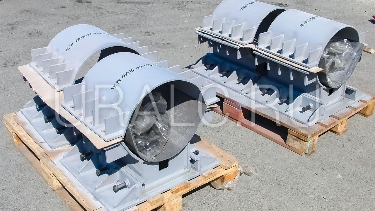 Опора разгрузочная для трубопровода 426х20 мм, по чертежу ОР-ХЛ-426-1