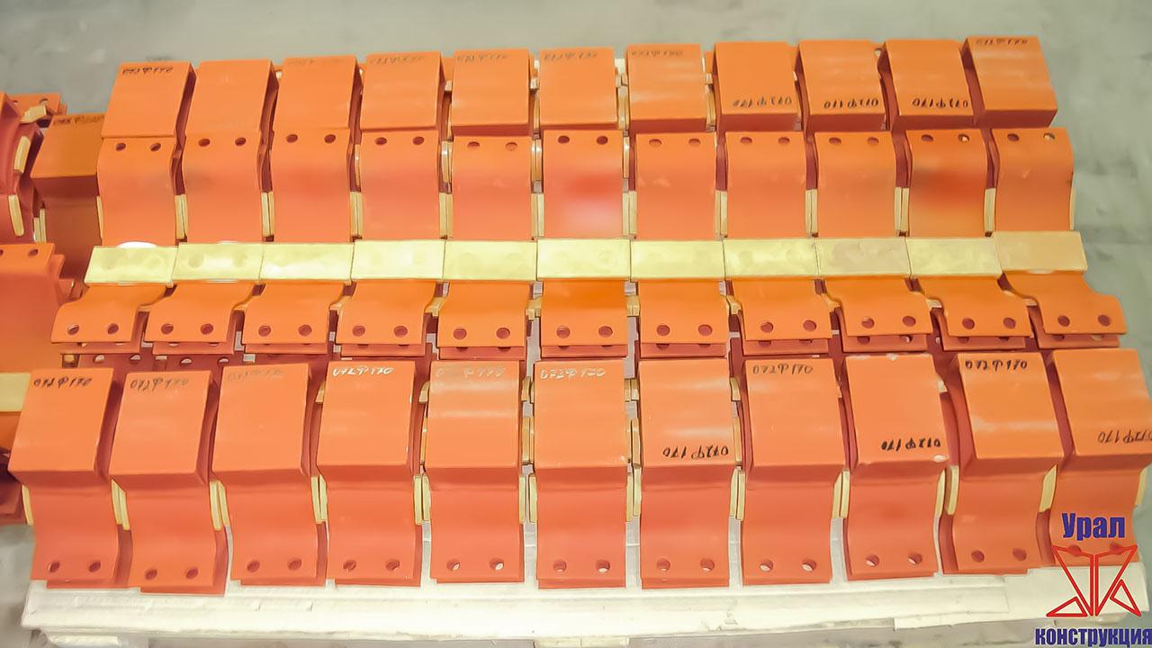 Опора трубопровода У2068 изготовленная по чертежу № 20823011715001098