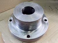 Полумуфта храпового колеса для мостового крана ч.Э-1215-15 сталь 45Л